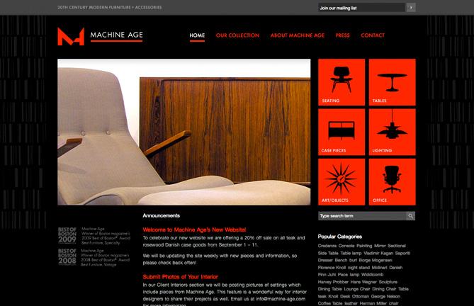 Machine Age Homepage