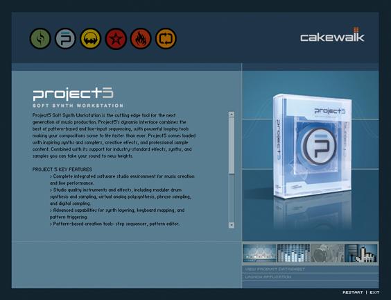 Cakewalk Interactive Catalog