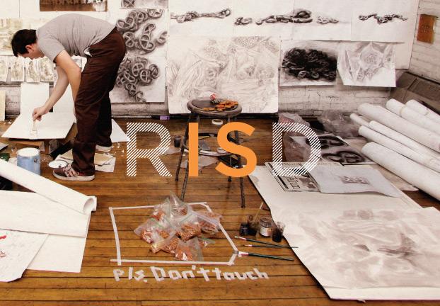 RISD 2008 catalog cover