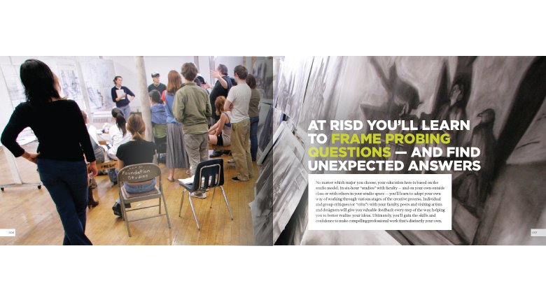 RISD 2009 catalog
