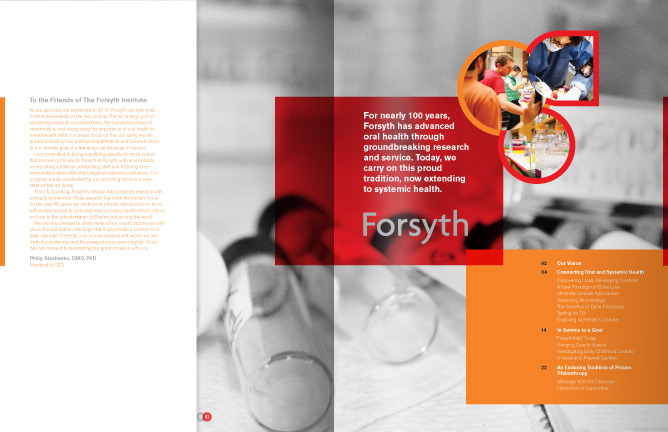 Forsyth Annual Report spread