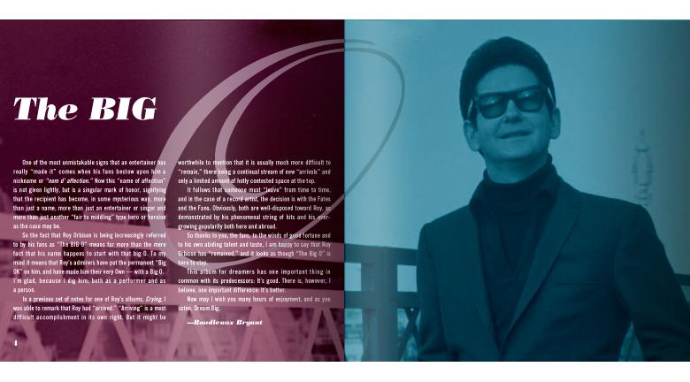 Sony Music Roy Orbison In Dreams