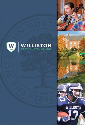 Williston viewbook cover