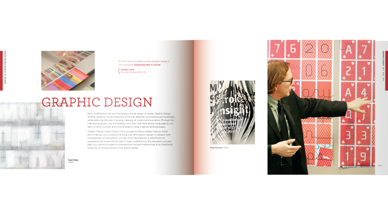 RISD catalog 2009 spread 3