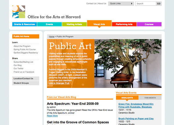 Office for the Arts at Harvard