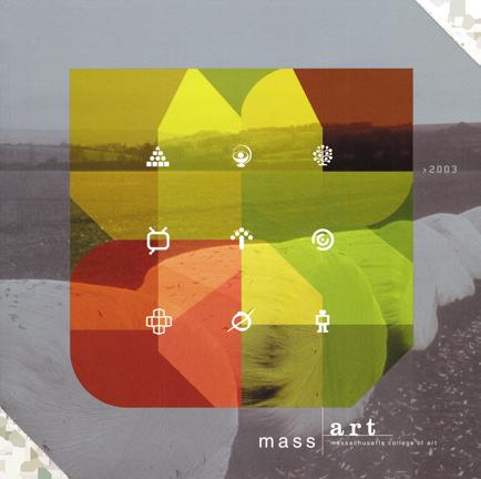 MassArt viewbook 2003 cover