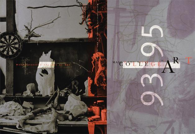 MassArt viewbook 1993-95 cover