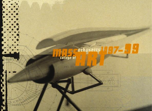 MassArt viewbook 1997-99 cover