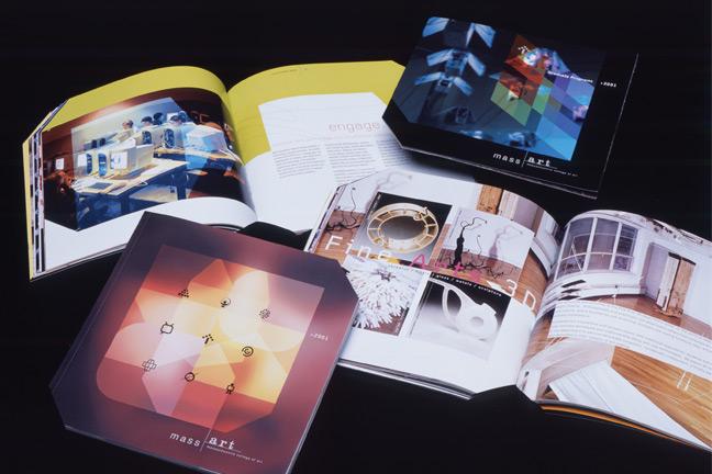 MassArt viewbooks 2001